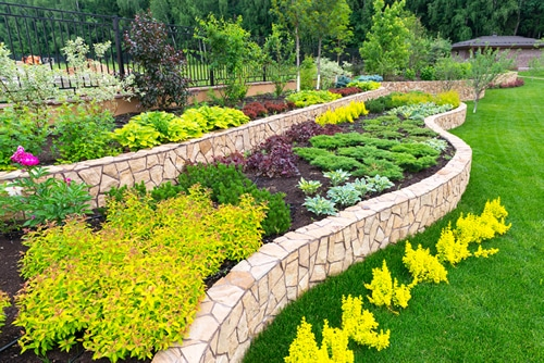 Shrewsbury landscaper warren landscaping for Landscape design photos